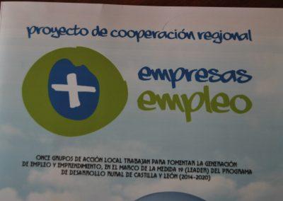 "Proyecto de Cooperación Regional ""+Empresas, +Empleo"""